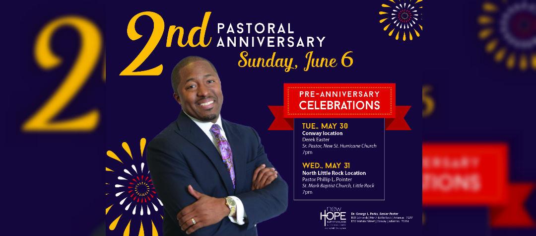 2nd Pastoral Anniversary