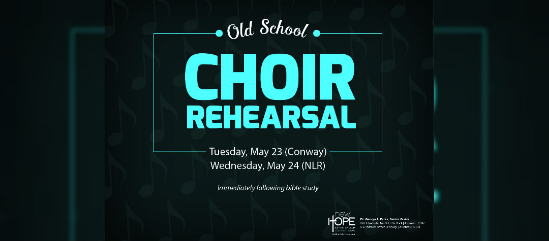 Old School Choir Rehearsal