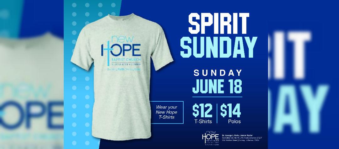 Spirit Sunday