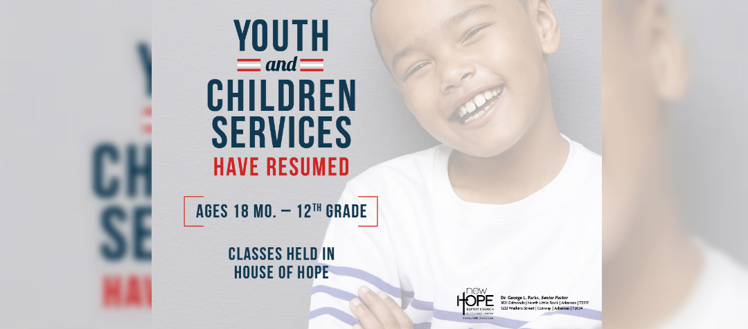 Youth Services Resumed
