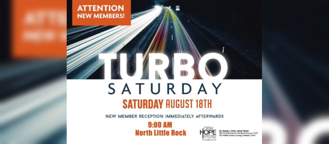 2018 Aug Turbo Saturday