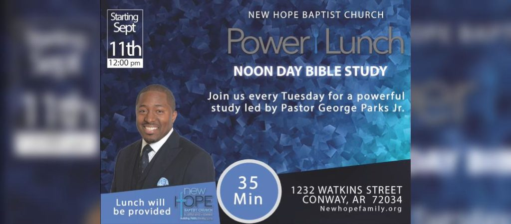 Power Lunch Bible Study @ Conway Campus | Conway | Arkansas | United States