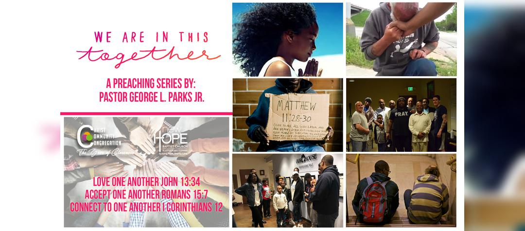 1 We're In This Together Preaching Series