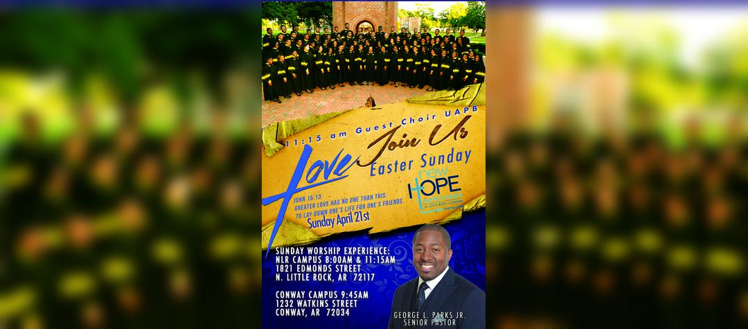 UAPB Vesper Choir Easter Sunday