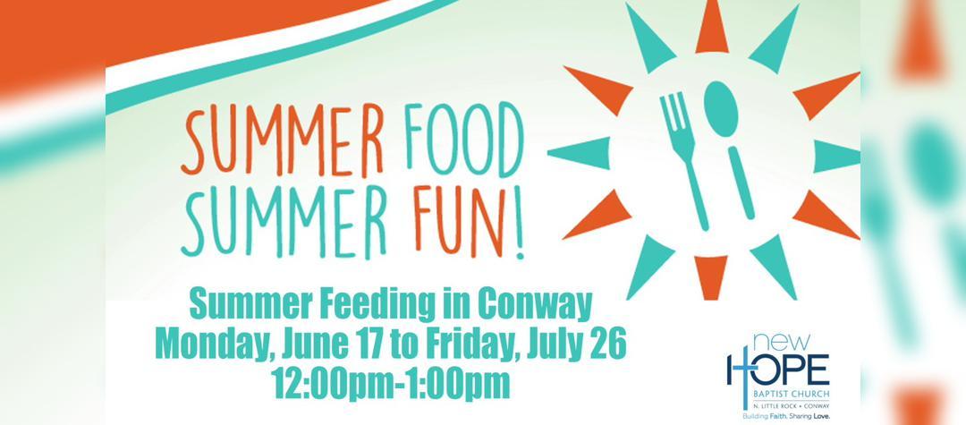 Conway Summer Feeding
